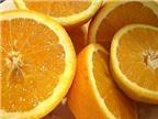 Những bài thuốc hữu hiệu từ quả cam