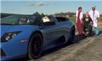 Chơi trội, dùng siêu xe Lamborghini để nhổ răng