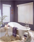 Phòng tắm cực cá tính và quyến rũ với sắc tím hiện đại