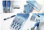 10 cách làm mới chiếc quần jean cũ