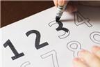 Dạy bé học số với mẹo cực đơn giản
