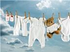 Học cách giặt quần áo trẻ sơ sinh an toàn cho bé