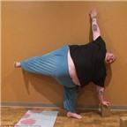 Người đàn ông nặng 303kg giảm cân nhờ chăm chỉ luyện tập yoga