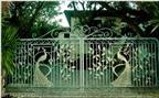 Nhà đẹp với những mẫu cổng độc đáo