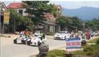 Loạt xe sang và môtô khủng nối đuôi rước dâu tại Hà Tĩnh