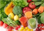 Các loại rau quả có tác dụng chống béo bụng rất tốt cho chị em