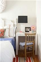 Mẹo bố trí nội thất cho phòng ngủ chật hẹp