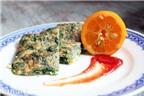 Trứng gà ngải cứu: món ăn bài thuốc