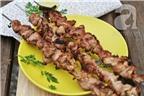 Thịt nướng sả mềm ngon thơm phức đãi cả nhà