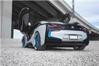 """BMW i8 """"cực chất"""" với bộ mâm """"thửa"""" từ HRE Wheels"""