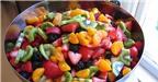 Cách làm salad hoa quả 7 màu cực ngon