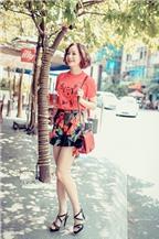 Phong cách thời trang dạo phố của Lan Phương