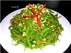 7 món ăn giảm cân từ rau muống