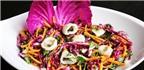 Tuyệt chiêu làm gỏi mực tím bắp cải ngon giòn, bổ dưỡng