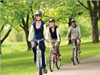 Đạp xe, đi bộ đi làm có thể giúp giảm cân