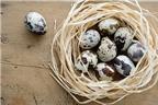 Lợi ích sức khỏe của trứng cút