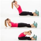 6 động tác trị đau lưng hiệu quả