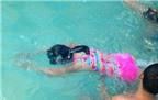 5 bài tập cơ bản cho người lần đầu học bơi