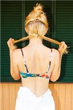 2 kiểu tóc điệu đà dễ làm dành cho nàng đi bơi