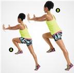 4 động tác giúp giảm cân nhanh chóng