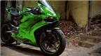 Ducati 899 Panigale độ phong cách 'Người khổng lồ xanh' cực độc