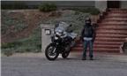 Biker chân ngắn lái môtô BMW 1200 phân khối siêu đẳng