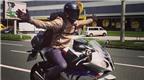 Chồng cũ của Scarlett Johansson thả hai tay khi lái BMW S1000RR