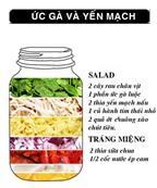 Thực đơn bữa trưa dành cho người giảm cân