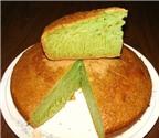 Cách làm bánh bò nướng lá dứa thơm lừng