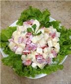 Salad hoa quả làm dễ ăn ngon