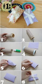 Mách bạn 3 món đồ tiện dụng hữu ích tái chế từ lõi giấy