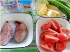 Món ngon bữa tối: Cá ngừ kho dứa
