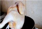Thèm chảy nước miếng với gà luộc thơm ngon