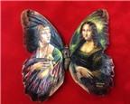 Những kiệt tác nghệ thuật được vẽ trên... cánh bướm