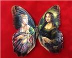 Tác phẩm nghệ thuật trên cánh bướm