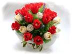 Cách cắm hoa hồng