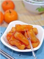 Bánh đúc sốt chua ngọt – từ món ăn vặt đến bữa chính cho gia đình