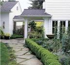 Cách bố trí đường vào nhà, lối đi và cửa trước hợp phong thủy