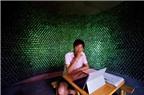[Photo] Độc đáo ngôi nhà làm từ 8.500 vỏ chai phế thải