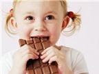 Chocolate tốt cho sức khỏe của trẻ
