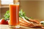 Nước ép cà rốt ngừa ung thư