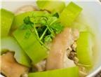 10 món ăn bổ dưỡng giải nhiệt ngày nắng nóng