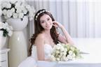 3 kiểu tóc đẹp dành cho cô dâu mặt nhỏ