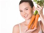 Ăn cà rốt tốt đủ đường