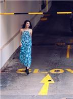 Thùy Trang khoe phong cách thể thao tại Singapore