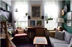 Bố trí thông minh cho căn hộ 31 m2 của gia đình có nhiều đồ đạc