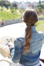 3 kiểu tóc xoắn chống nóng hiệu quả ngày hè