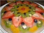 Cách làm thạch hoa quả ngọt mát giải nhiệt cho ngày hè