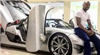 "Floyd Mayweather chụp ảnh bên siêu xe Koenigsegg ""dệt kim cương"""