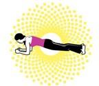 Giảm mỡ bụng trong 10 ngày với 4 động tác đơn giản